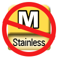 ISO 513 Stainless Steel Alloys  Will not work