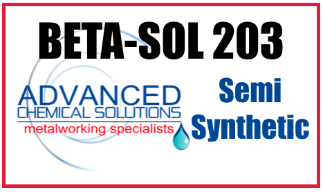 Beta Sol 203 Semi Synthetic Coolant